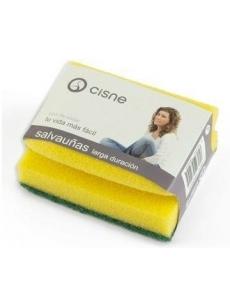 Sponge with nails protector CISNE 10x7,5x5cm