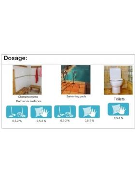 Higienizer anti-limescale cleaner AQUAGEN DF (concentrate)