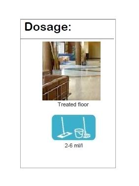 Ekologiškas grindų valiklis su vašku NATURSAFE COMPACT, 5Lx4vnt.