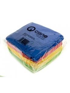 Mikropluošto universalios šluostės PLUS spalvotos, 38x40cm (12vnt.)