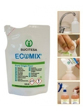 Pušų kvapo grindų ploviklis ECOMIX FLOOR ORIGIN