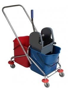 Cleaning trolley ECO RILSAN 2x25L
