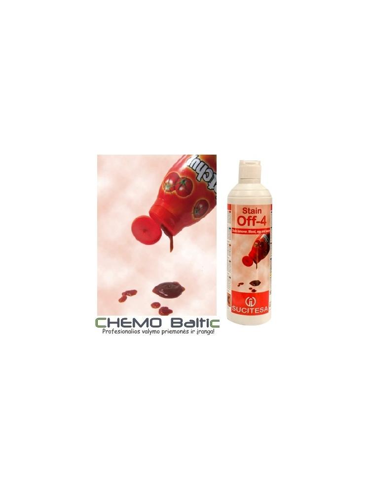 Kraujo, kiaušinių ir padažų dėmių valiklis STAIN OFF-4