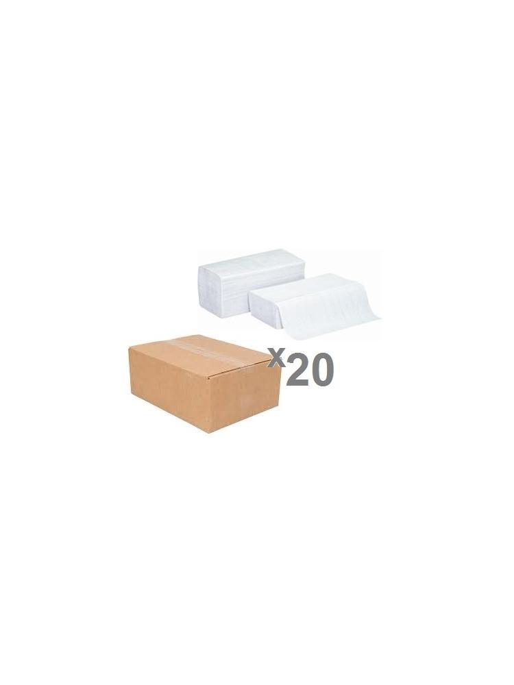 Popieriniai rankšluosčiai servetėlėmis PERFECT PLUS WHITE V