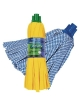 SYNTHETIC STRIPS WET MOP with microfibre (12pcs)