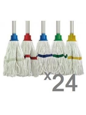 Siūlinė grindų šluostė MICROFIBRE WET MOP (12vnt.)