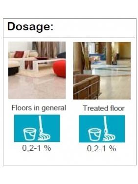 Kvapnus grindų ploviklis su bio-alkoholiu AQUAGEN IC HERBAL (4vnt.)