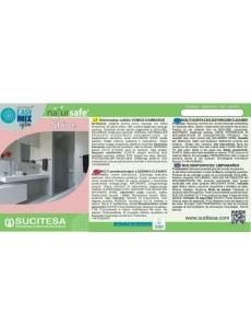 Label for NATURSAFE SHINE cleaner