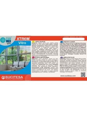 Label for XTREM VITRO cleaner