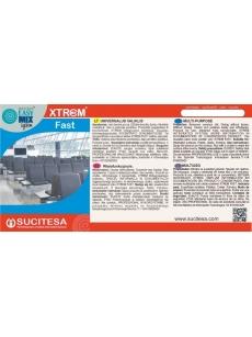 Label for XTREM FAST cleaner