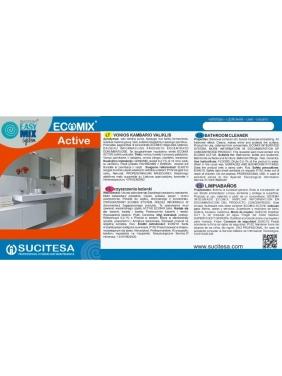Lipni etiketė ECOMIX ACTIVE valikliui