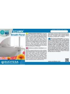 Lipni etiketė ECOMIX BREATH FLORAL gaivikliui