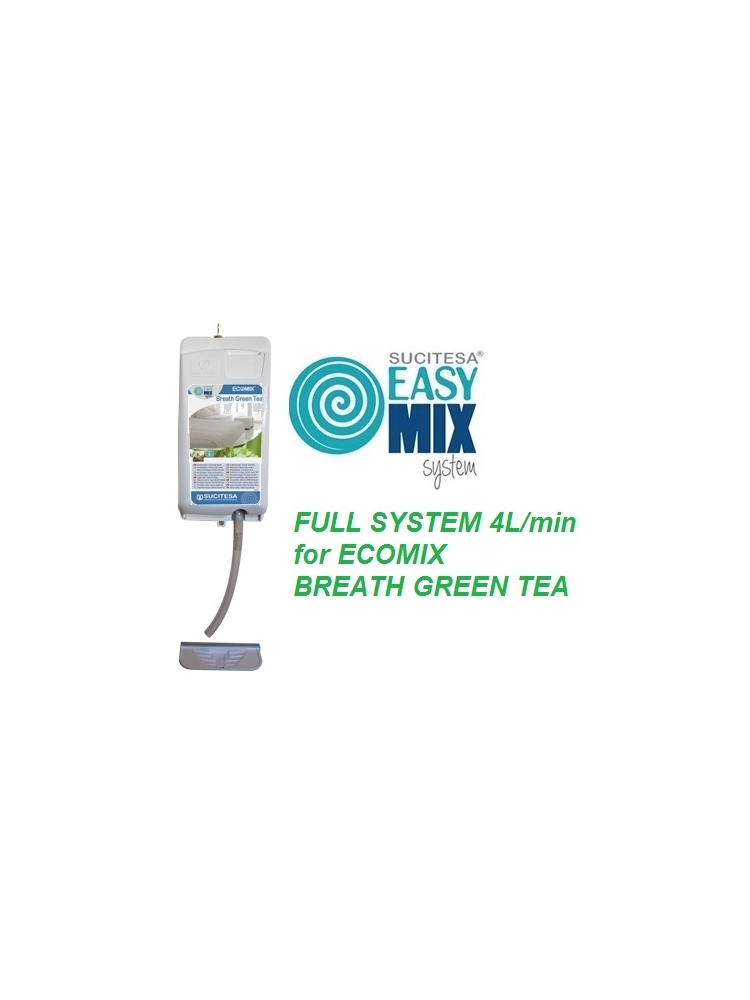 EASYMIX dozavimo sistema 4L/min (BREATH GREEN TEA gaivikliui)