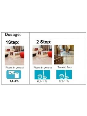Floral fragrance floor cleaner XTREM MULTINET, 2L