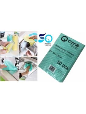 Nonwoven cleaning cloths SPUNLANCE Wiper, 33x50cm (50pcs)