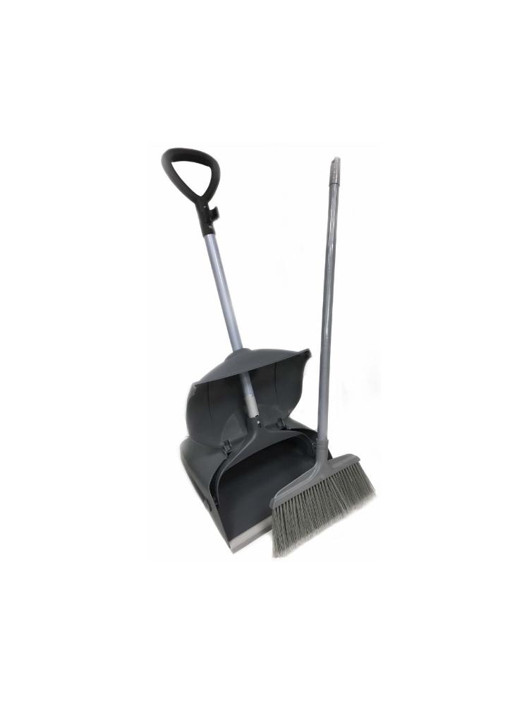 Professional dustpan wit lid and brush CISNE