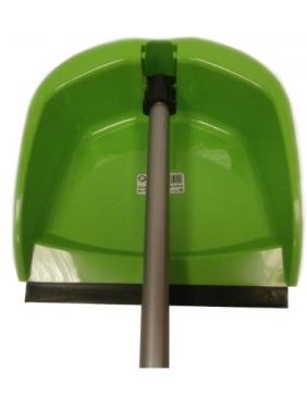 Folding Dustpan with metallic handle
