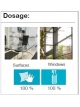 Multi-purpose window cleaner NATURSAFE XTRA GLASS, 5Lx4units