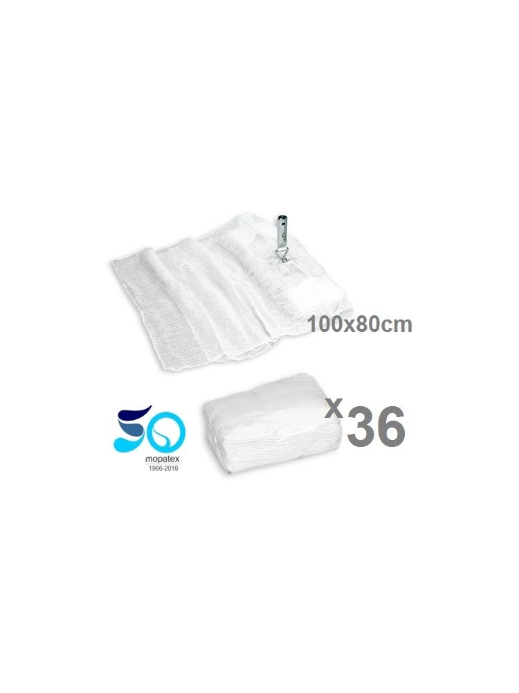 Mop covering gauze 100x80cm (36units)