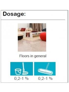 Ekologiškas grindų ploviklis NATURSAFE PLUS CLEANER