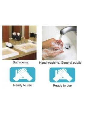 Hand wash gel TENSOGEN TOUCH (6vnt.) + dispenser for FREE