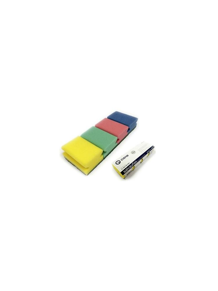 Kempinėlės su nagų apsauga šveitimui CISNE COLOR 9x7x4.5cm (4vnt.)