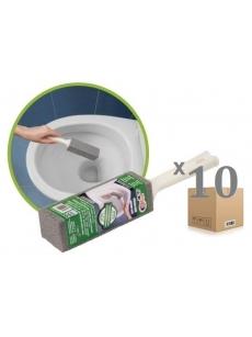 Valymo blokelis WC su rankena (10vnt.)