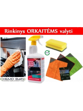 Cleaning set for OVENS