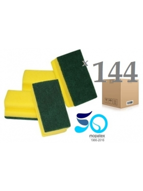 Kempinė su nagų apsauga PROFESSIONAL 14x7x4,5cm (144vnt.)
