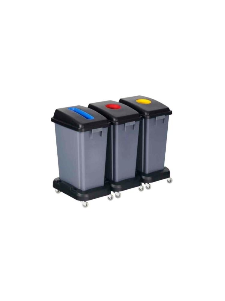Bazė (platforma) su ratukais konteineriams 409023