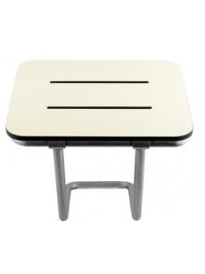 Sulankstoma sėdynė su kojele AM0100 (balta)