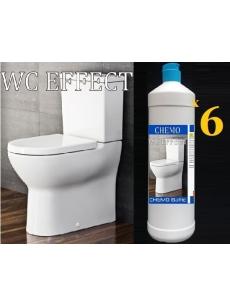 Efektyvi WC valymo priemonė CHEMO WC EFFECT 1Lx6vnt.