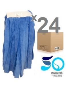 Microfibre KENTUCKY BLUE STIPS MOP x24units