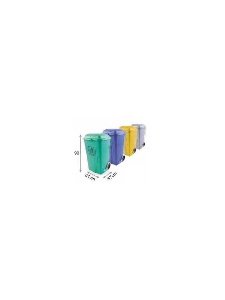Konteineris su pedalu 120L (mėlyna)