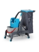 Mopping Trolley PROCART 720S with waste set