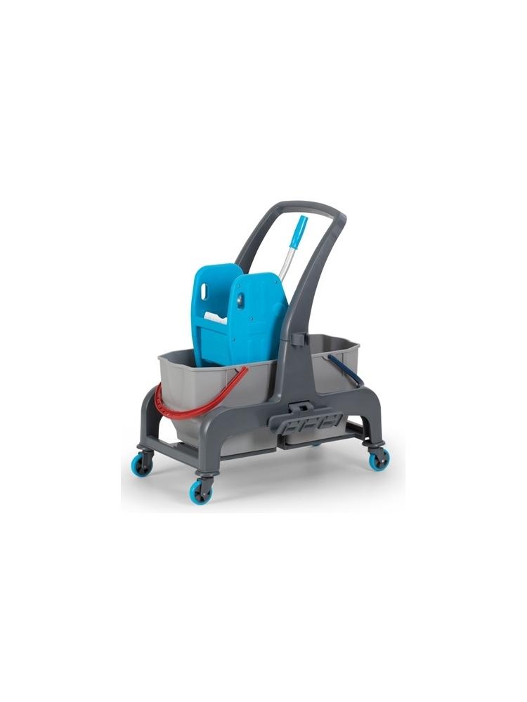 Dviejų kibirų valytojos vežimėlis JET720S, 2x25L