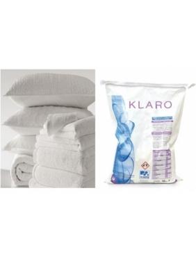 Laundry powder for white clothes KLARO 25Kg
