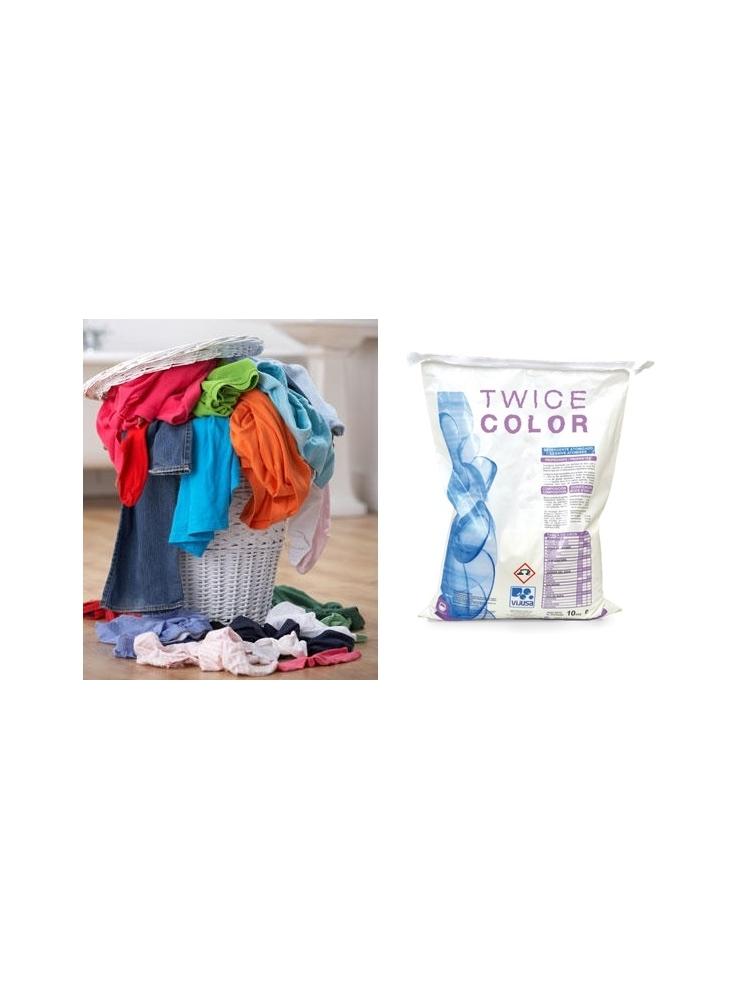 High performance laundry powder with enzymatic EMULGEN BIOPLUS