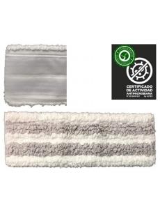 Antibakterinė grindų šluostė ANTIBACTERIC VELCRO MOP 40cm (pilka)