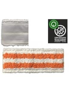 Antibakterinė grindų šluostė ANTIBACTERIC VELCRO 40cm (oranžinė)