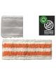 Antibakterinė grindų šluostė ANTIBACTERIC VELCRO MOP 40cm (oranžinė)