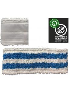 Microfibra ANTIBACTERIC VELCRO MOP 40cm (mėlyna)