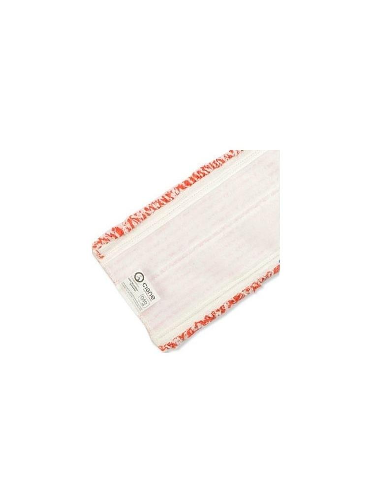 Priklijuojama grindų šluostė MICROFIBRA VELCRO MOP 40cm (raudona)