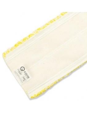 Priklijuojama grindų šluostė MICROFIBRA VELCRO MOP 40cm (geltona)