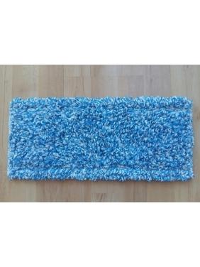 Priklijuojama grindų šluostė MICROFIBRA VELCRO MOP 60cm (mėlyna)