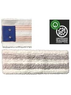 Antibakterinė šluostė grindims ANTIBACTERIC WET MOP 40cm (pilka)