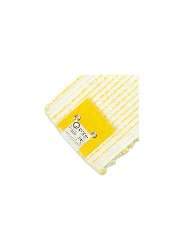 Mikrofibrinė grindų šluostė WET MOP 40cm (geltona)