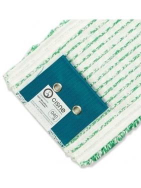 Mikrofibrinė grindų šluostė WET MOP 40cm (žalia)