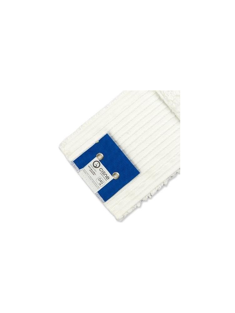 Mikrofibrinė grindų šluostė WET MOP 40cm (balta)