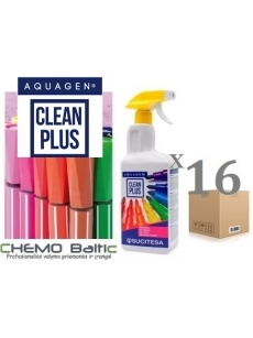 Ink remover AQUAGEN CLEAN PLUS FOAM 1Lx16units